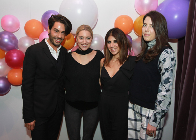 Joey Maalouf, Christine Cameron, Jackie Demeterio and Ashley Kiely are seen at the Simply Stylist New York Fashion and Beauty Conference at YOTEL on Saturday, Nov. 5, 2016, in New York City. (Photo by Soul Brother)