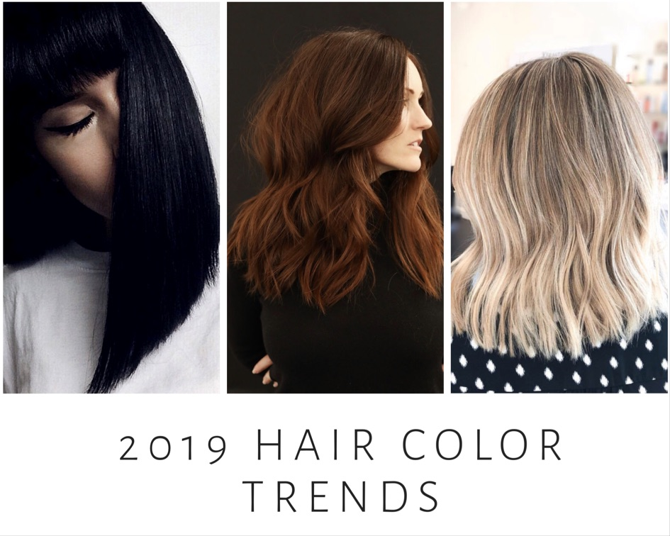 2019 Hair Color: New Year, New You: 2019 Hair Color Trends